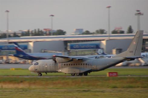 CASA C-295 / Polskie Siły Powietrzne / Numer taktyczny 022.
